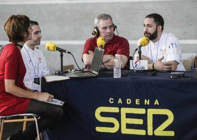 Programa en directo de Radio Pontevedra, Cadena Ser desde Etiqueta Negra. Contamos con Fran Sotelino e Manuel Garea