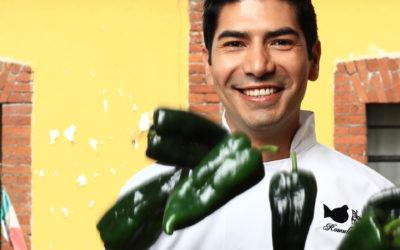 O chef mexicano Rómulo Mendoza nos showcookings de Etiqueta Negra 2018
